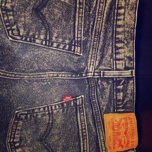 Levi 510 Skinny jeans **Worn Twice** size 28 / 32
